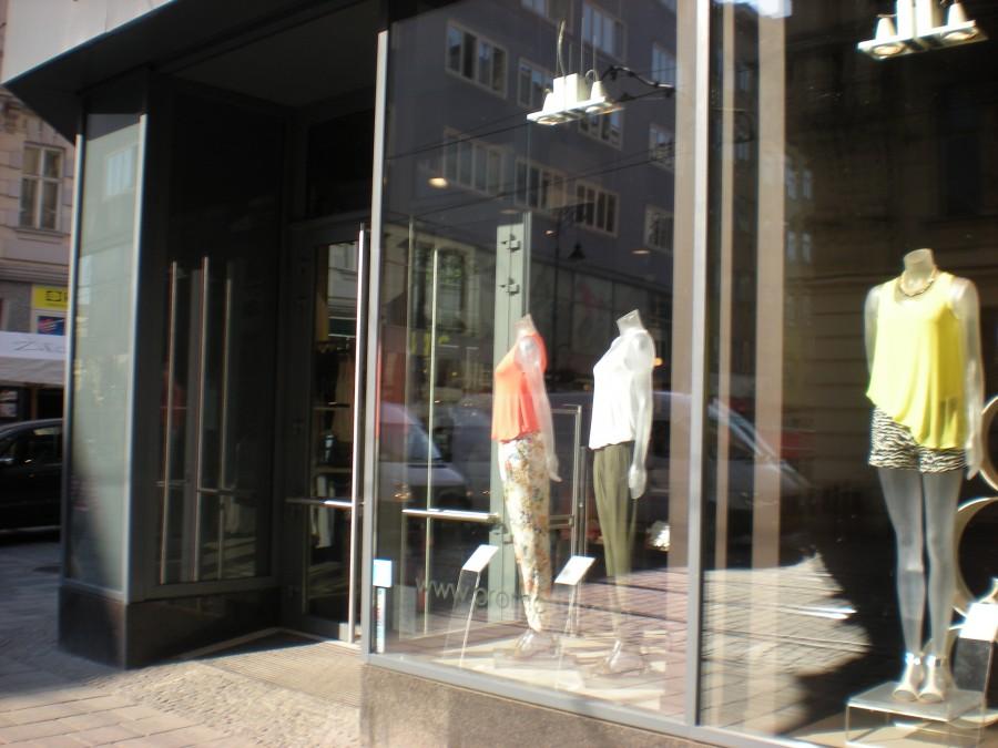 Mytí oken v Hradci Králové