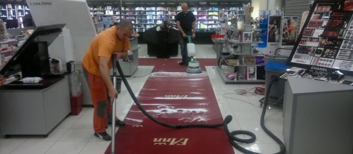 Strojní čištění koberců Brno