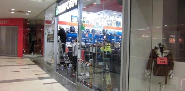 Mytí výloh v obchodních centrech Praha